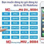 Cách đăng ký 3G Mobifone