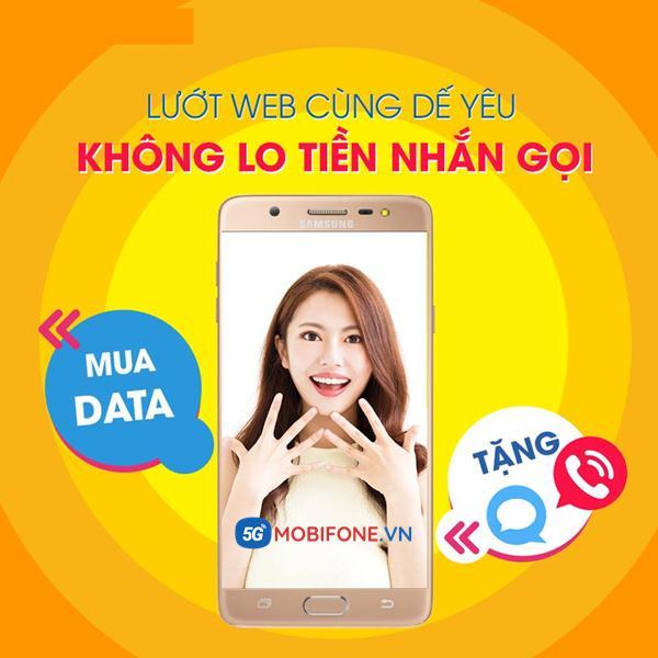 Đăng ký gói Data Plus Mobifone
