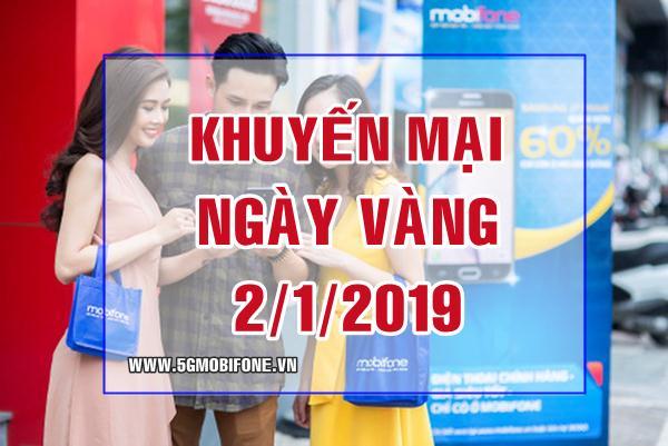 Chương trình Mobifone khuyến mãi ngày 2/12/2018