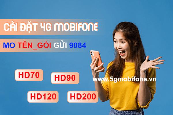 Hướng dẫn cách cài đặt 4G Mobifone miễn phí trên các dòng điện thoại
