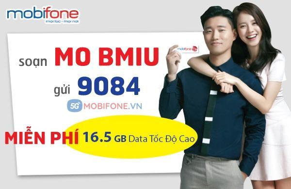 Cách đăng ký gói BMIU Mobifone