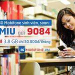 Đăng ký Gói MIU sinh viên Mobifone