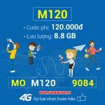 Đăng ký gói cước M120 Mobifone