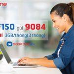Gói F150 Mobifone tặng 9GB Data tốc độ cao