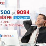 Đăng ký gói F500 Mobifone trọn gói 12 tháng