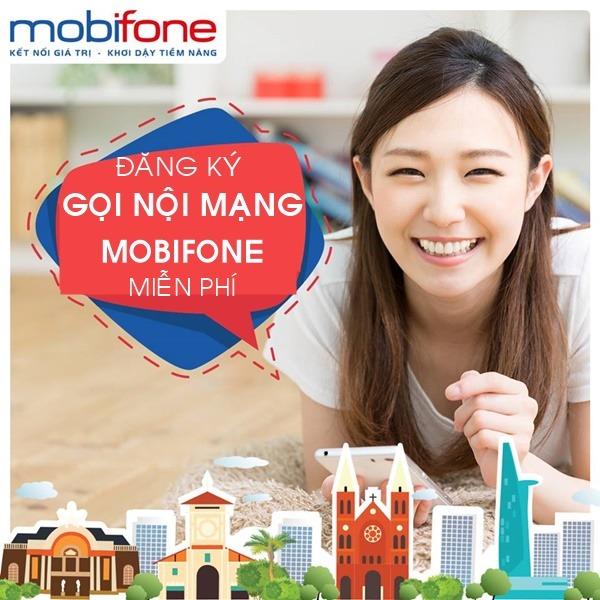 Gói cước gọi nội mạng Mobifone miễn phí