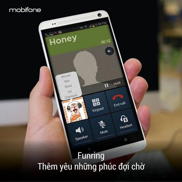 Cài đặt nhạc chờ Funring Mobifone