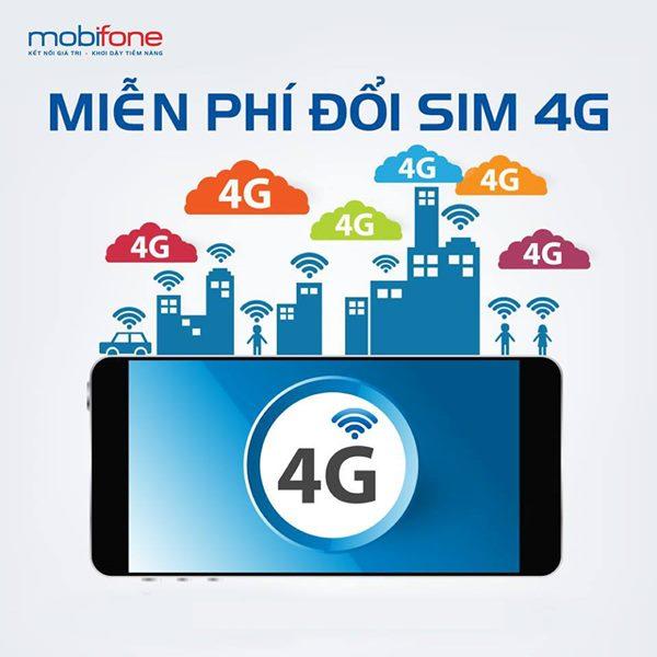 Đổi Sim 4G Mobifone miễn phí