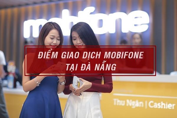 Cửa háng giao dịch Mobifone tại Đà Nẵng
