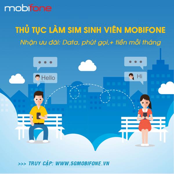 Thủ tục hòa mạng Sim sinh viên Mobifone