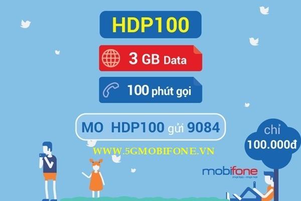 Đăng ký gói HDO100 Mobifone
