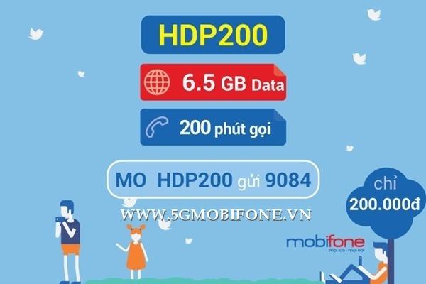 Đăng ký gói HDP200 Mobifone nhận ưu đãi kép