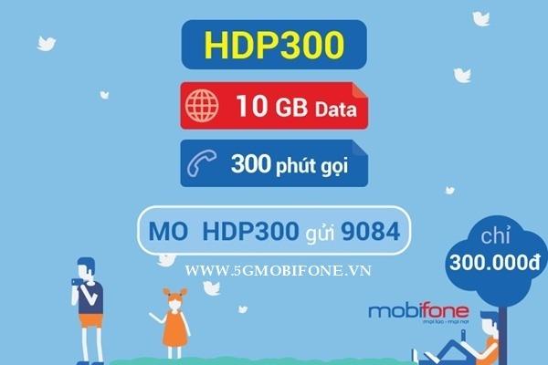 Đăng ký gói HDP300 Mobifone nhận ưu đãi khủng