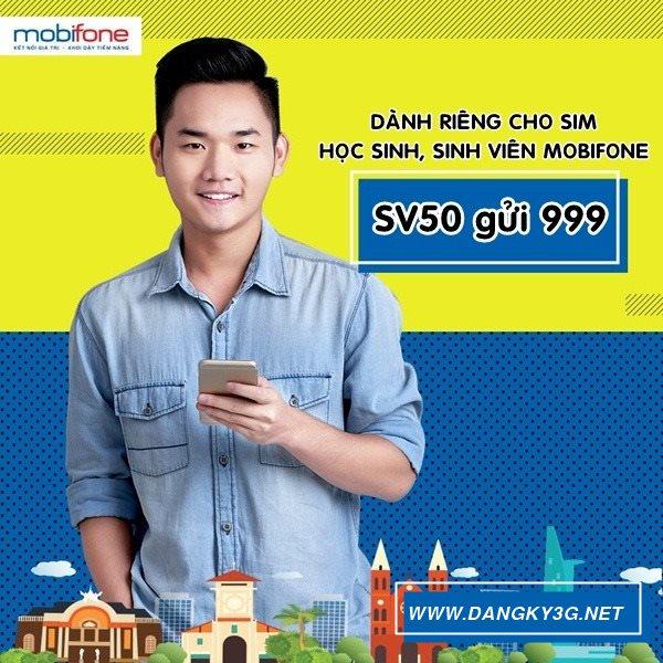 Gói cước SV50 Mobifone chỉ 50.000đ/tháng