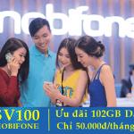 Đăng ký gói SV100 Mobifone chỉ với 100.000đ/tháng