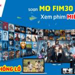 Đăng ký gói cước FIM30 Mobifone xem phim thả ga