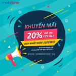 Mobifone khuyến mãi ngày 11/9/2019