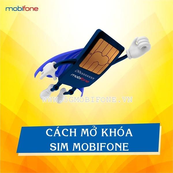 Cách mở khóa Sim Mobifone nhanh chóng