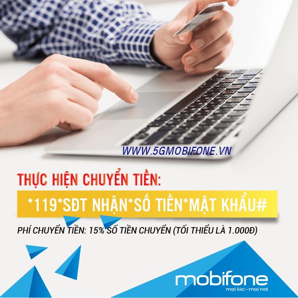 Cách chuyển tiền bắn tiền Mobifone