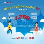Đăng ký gói cước D7 Mobifone nhận 1,2GB chỉ với 7.000đ