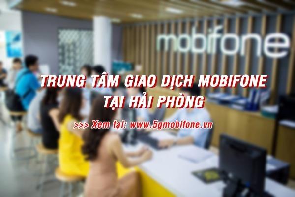 Trung tâm giao dịch Mobifone tại Hải Phòng