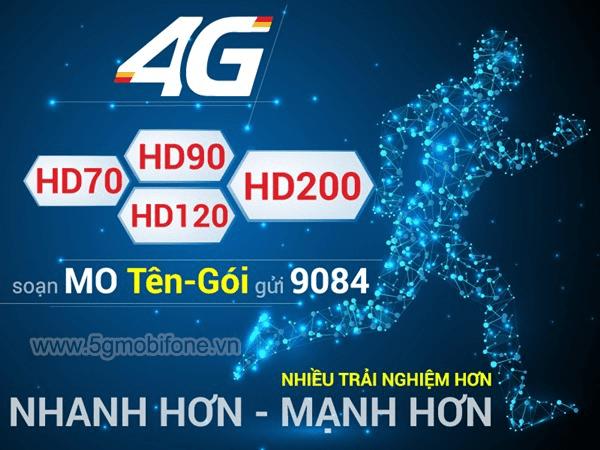 Bảng giá các gói cước 4G Mobifone mới nhất