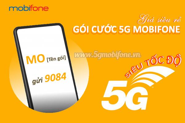 Bảng giá các gói cước 5G Mobifone giá rẻ ưu đãi siêu khủng