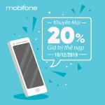 Mobifone khuyến mãi ngày 18/12/2019