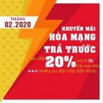 Khuyến mãi hòa mạng trả trước Mobifone tháng 2/2020