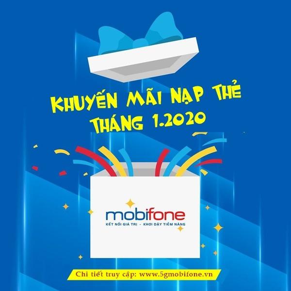 Lịch khuyến mãi Mobifone tháng 1/2020