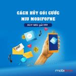 Cách hủy gói MIU Mobifone