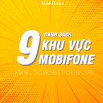 Danh sách 9 khu vực Mobifone