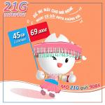 Cách đăng ký gói 21G Mobifone trọn gói data 45G chỉ với 69k/tháng