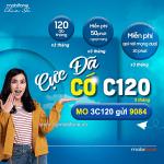 Cách đăng ký gói 3C120 Mobifone ưu đãi 360GB + free gọi thoại