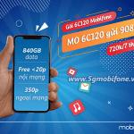 Đăng ký gói 6C120 Mobifone miễn phí 840GB data, gọi thoại free 7 tháng