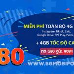 Cách đăng ký gói G80 Mobifone miễn phí 4GB data kèm nhiều tiện ích giải trí trên các ứng dụng siêu HOT