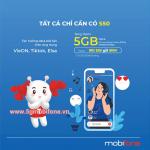 Đăng ký gói S50 Mobifone chỉ với 50.000đ nhận ngay 5GB data kèm nhiều dịch vụ giải trí