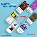 Đăng ký gói HSV50 Mobifone miễn phí 120GB data + Free data giải trí