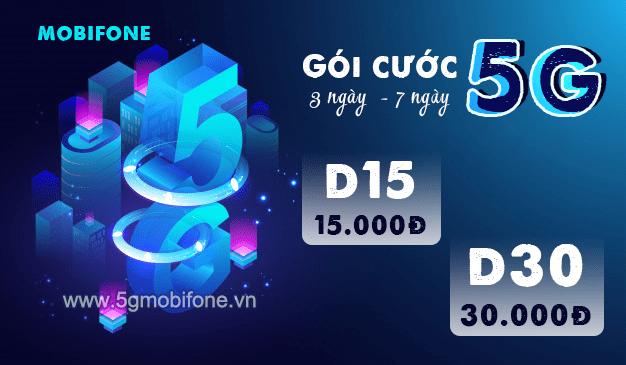 Hướng dẫn cách đăng ký gói cước 5G Mobifone