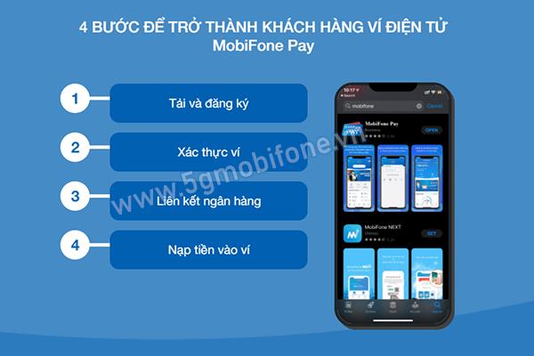 4 bước tải và sử dụng Mobifone Pay